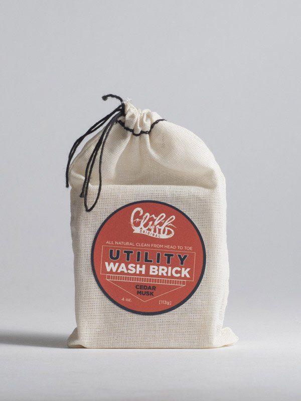Cliff Original Cedar Musk Utility Wash Brick 1