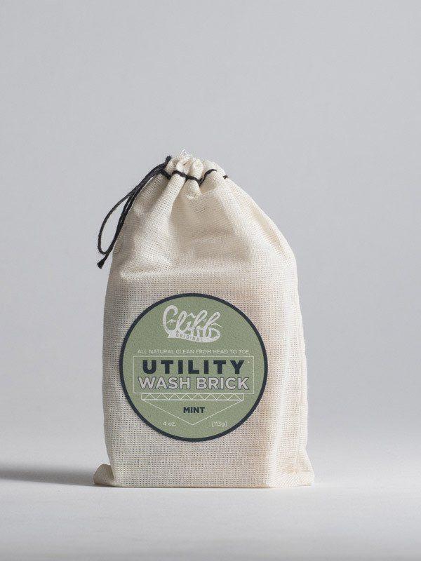 Cliff Original Mint Utility Wash Brick 1