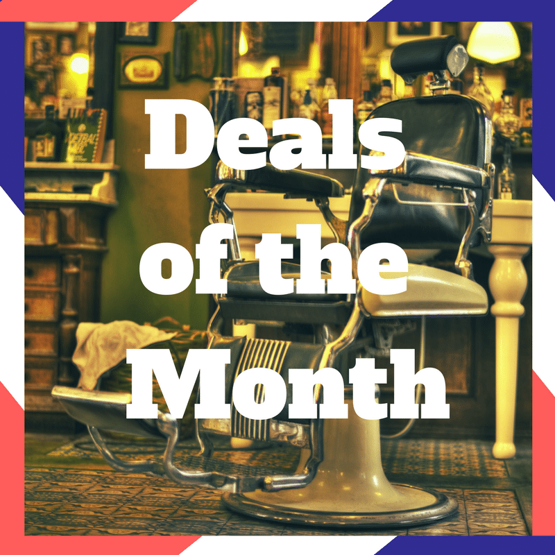 MenKare Deals of the Month